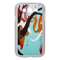 Colorful Graffiti In Amsterdam Samsung Galaxy Grand Duos I9082 Case (white)
