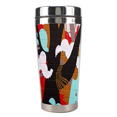 Colorful Graffiti In Amsterdam Stainless Steel Travel Tumblers