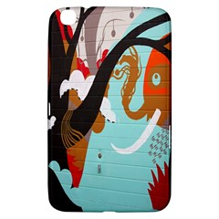 Colorful Graffiti In Amsterdam Samsung Galaxy Tab 3 (8 ) T3100 Hardshell Case