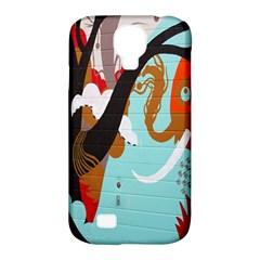Colorful Graffiti In Amsterdam Samsung Galaxy S4 Classic Hardshell Case (PC+Silicone)