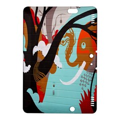 Colorful Graffiti In Amsterdam Kindle Fire HDX 8.9  Hardshell Case