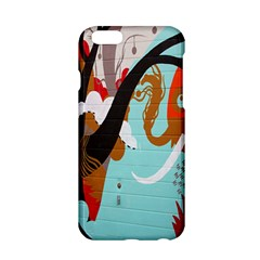 Colorful Graffiti In Amsterdam Apple iPhone 6/6S Hardshell Case