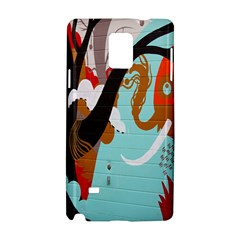 Colorful Graffiti In Amsterdam Samsung Galaxy Note 4 Hardshell Case