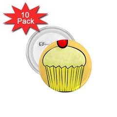 Cake Bread Pie Cerry 1 75  Buttons (10 Pack)