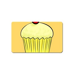 Cake Bread Pie Cerry Magnet (name Card)