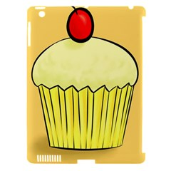 Cake Bread Pie Cerry Apple Ipad 3/4 Hardshell Case (compatible With Smart Cover)