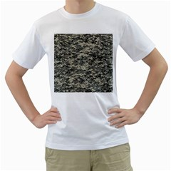 Us Army Digital Camouflage Pattern Men s T Shirt (white) (two Sided)