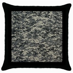 Us Army Digital Camouflage Pattern Throw Pillow Case (black)