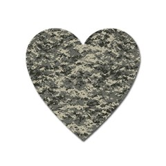 Us Army Digital Camouflage Pattern Heart Magnet