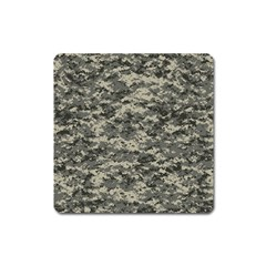 Us Army Digital Camouflage Pattern Square Magnet