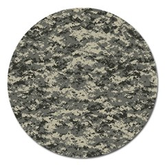 Us Army Digital Camouflage Pattern Magnet 5  (Round)