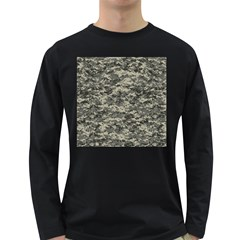 Us Army Digital Camouflage Pattern Long Sleeve Dark T Shirts