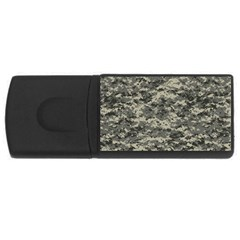 Us Army Digital Camouflage Pattern USB Flash Drive Rectangular (4 GB)