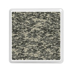 Us Army Digital Camouflage Pattern Memory Card Reader (square)