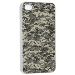 Us Army Digital Camouflage Pattern Apple iPhone 4/4s Seamless Case (White)