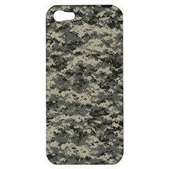 Us Army Digital Camouflage Pattern Apple Iphone 5 Hardshell Case
