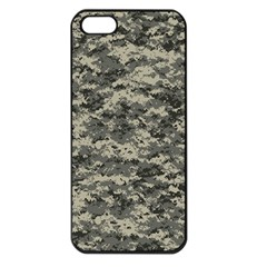 Us Army Digital Camouflage Pattern Apple iPhone 5 Seamless Case (Black)