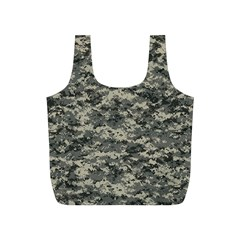 Us Army Digital Camouflage Pattern Full Print Recycle Bags (S)