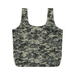 Us Army Digital Camouflage Pattern Full Print Recycle Bags (M)