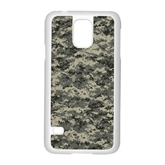 Us Army Digital Camouflage Pattern Samsung Galaxy S5 Case (White)