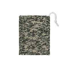 Us Army Digital Camouflage Pattern Drawstring Pouches (Small)