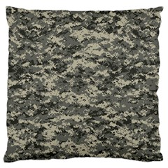 Us Army Digital Camouflage Pattern Large Flano Cushion Case (two Sides)