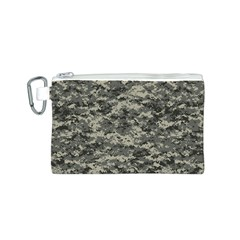 Us Army Digital Camouflage Pattern Canvas Cosmetic Bag (S)