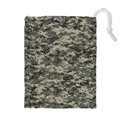 Us Army Digital Camouflage Pattern Drawstring Pouches (extra Large)