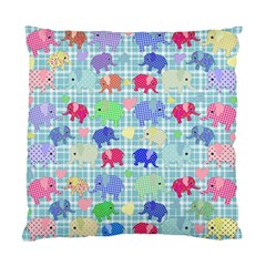 Cute elephants  Standard Cushion Case (Two Sides)