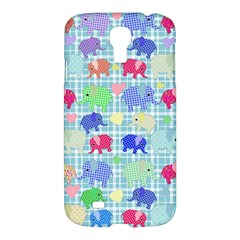 Cute elephants  Samsung Galaxy S4 I9500/I9505 Hardshell Case