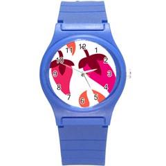 Chili Round Plastic Sport Watch (s)