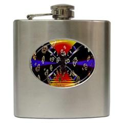 Diamond Manufacture Hip Flask (6 oz)