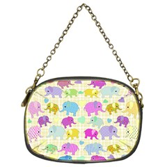 Cute elephants  Chain Purses (One Side)