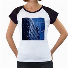 Building Architectural Background Women s Cap Sleeve T