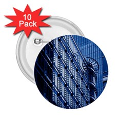 Building Architectural Background 2 25  Buttons (10 Pack)