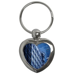 Building Architectural Background Key Chains (Heart)