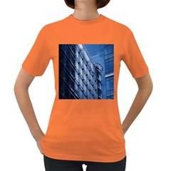 Building Architectural Background Women s Dark T-Shirt