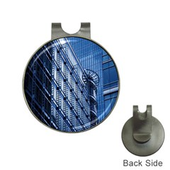 Building Architectural Background Hat Clips With Golf Markers
