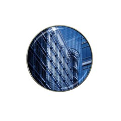 Building Architectural Background Hat Clip Ball Marker (4 pack)