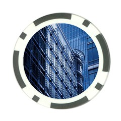 Building Architectural Background Poker Chip Card Guard
