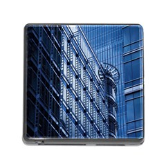 Building Architectural Background Memory Card Reader (square)