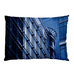 Building Architectural Background Pillow Case (two Sides)