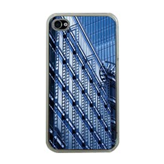 Building Architectural Background Apple iPhone 4 Case (Clear)