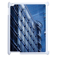 Building Architectural Background Apple Ipad 2 Case (white)