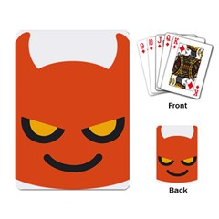 Devil Playing Card