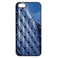 Building Architectural Background Apple iPhone 5 Seamless Case (Black)