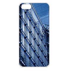 Building Architectural Background Apple iPhone 5 Seamless Case (White)
