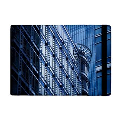 Building Architectural Background Apple iPad Mini Flip Case