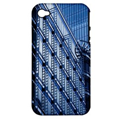 Building Architectural Background Apple iPhone 4/4S Hardshell Case (PC+Silicone)