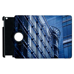 Building Architectural Background Apple Ipad 2 Flip 360 Case